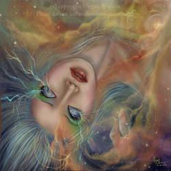 Cosmic storm by aonodori