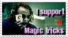 Stamp- I support Magic tricks by bidujador