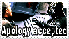 stamp - apology accepted by bidujador