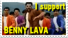 Stamp - I support Benny Lava by bidujador