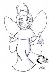 Quick sketch for cute-eve by bidujador