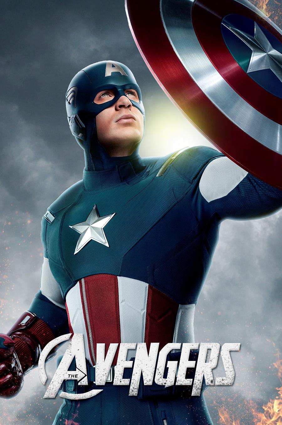 The Avengers- Captian America by LifeEndsNow