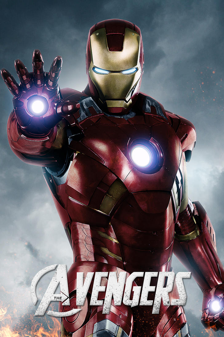 The Avengers-Iron Man by LifeEndsNow