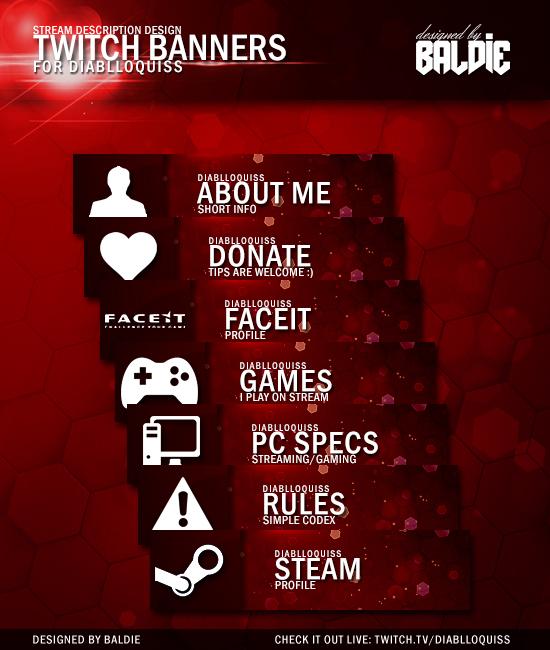 DiablloQuiss Twitchtv Buttons By Baldnerd On DeviantArt