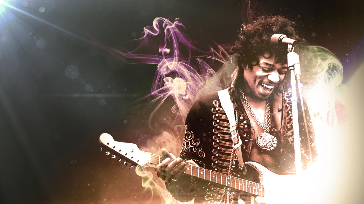 Jimi hendrix trippy wallpaper jimi hendrix wallpaperbackground by timsaunders on deviantart altavistaventures Images