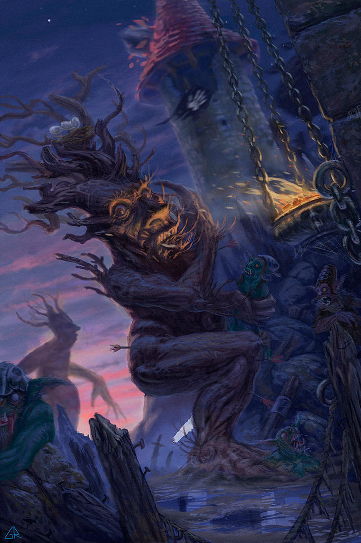 The Last March of the Ents by GrazianoRoccatani