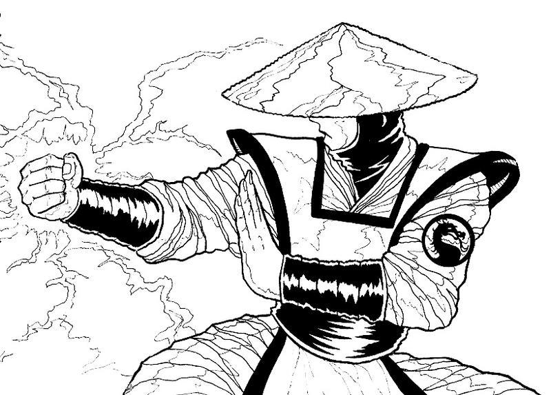 Mortal Kombat Raiden Drawings Raiden Mortal Kombat D...