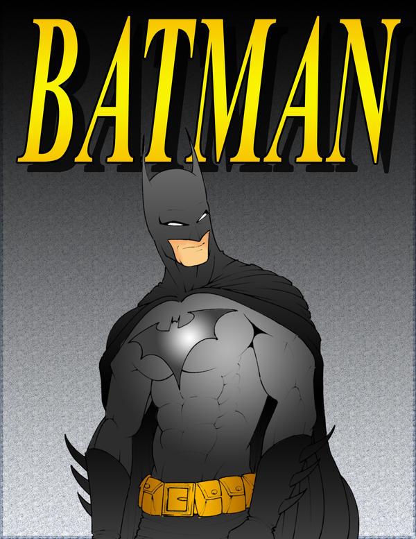 Batman by r-i-p-p-l-e