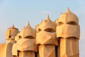 La Pedrera roof by scoiattolissimo