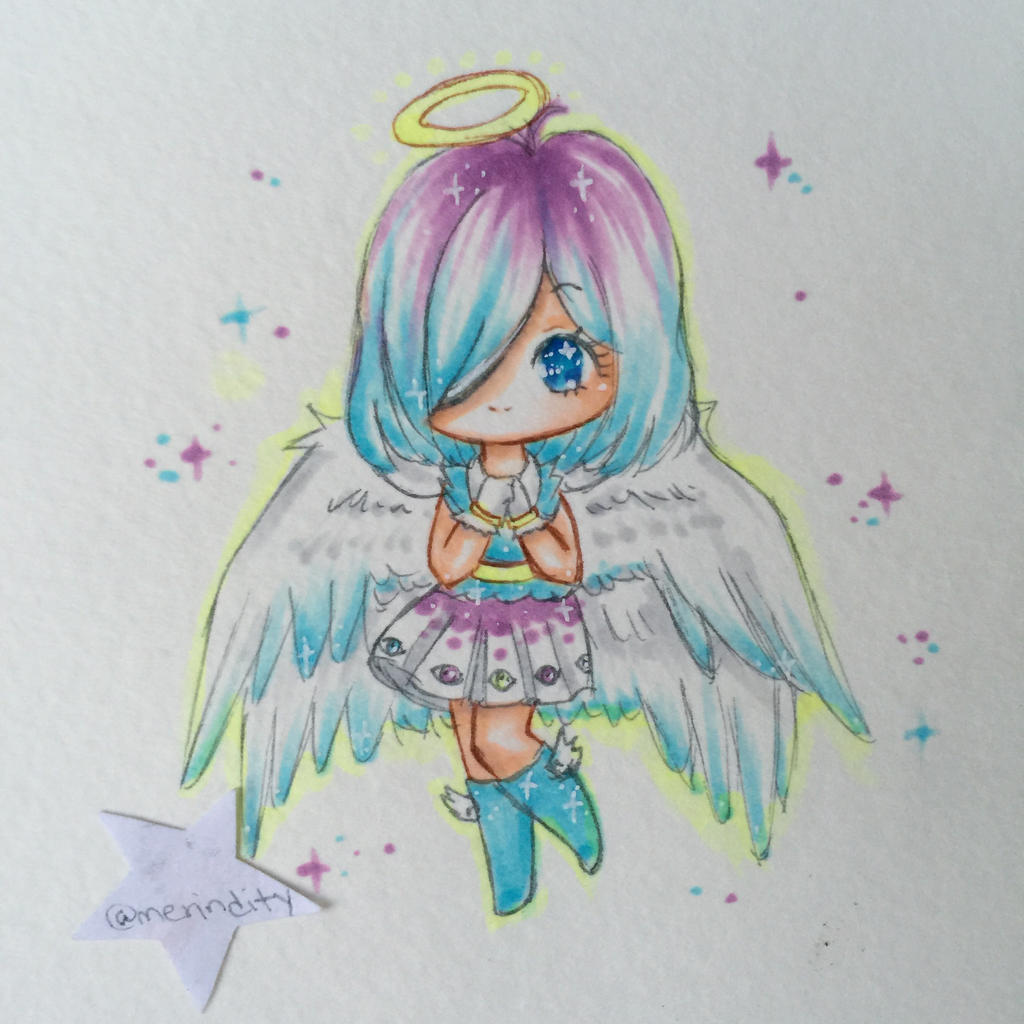 :AT: Ethaniel the Angel by Merindity