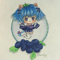 :AT: Yana the Blueberry Cobbler Kitten by Merindity