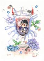 :C: Hotaru's Berry Splash by Merindity