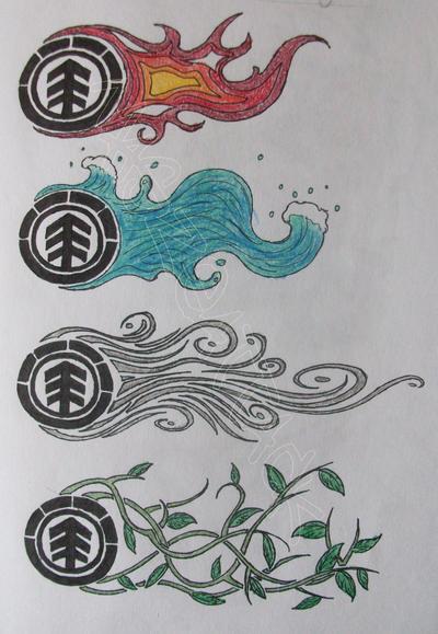 element elements tattoo by maszeattack on deviantart. Black Bedroom Furniture Sets. Home Design Ideas
