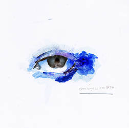 watercolor - eyes. by checajessica