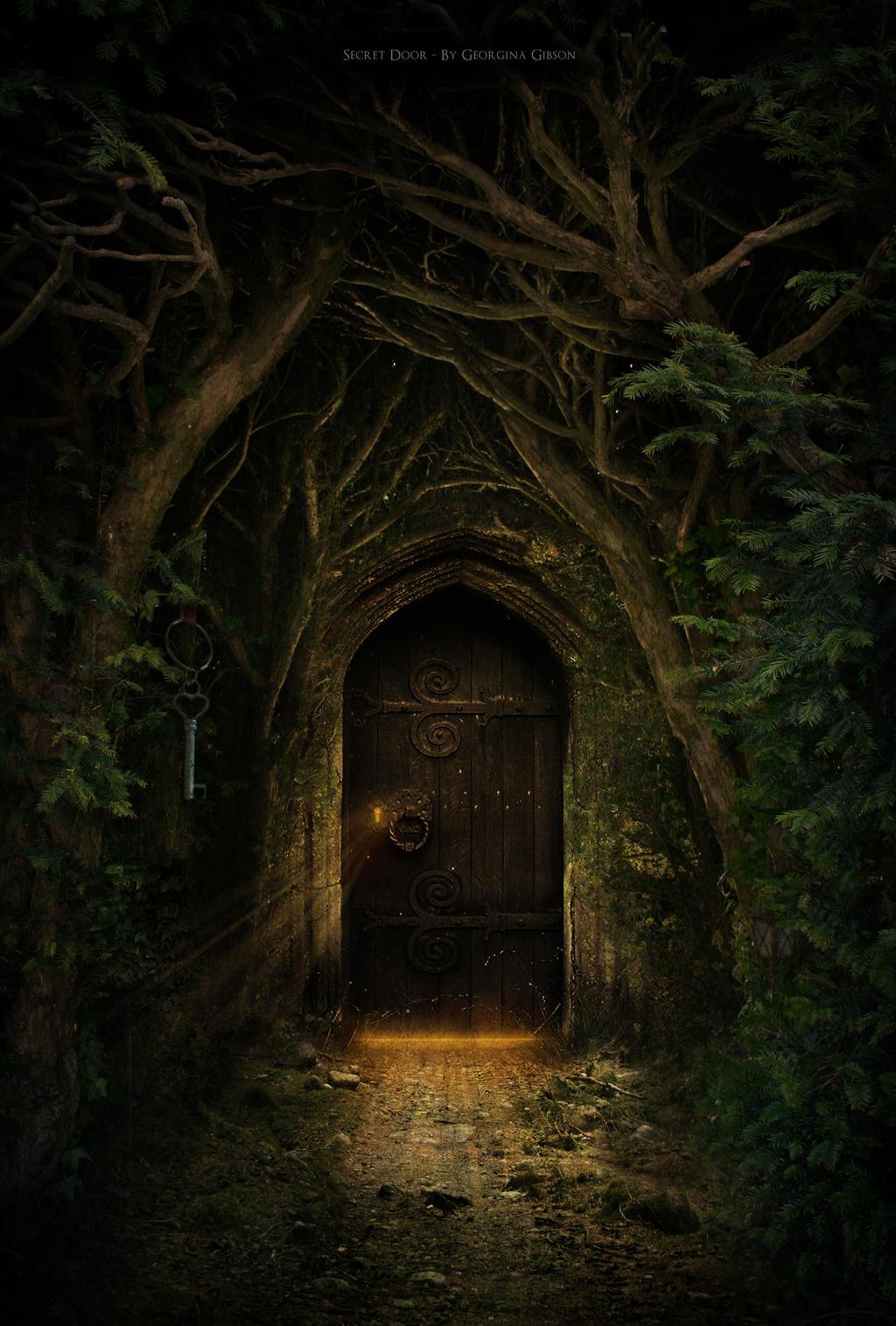 through the magic door fairies secret door by georgina gibson on deviantart
