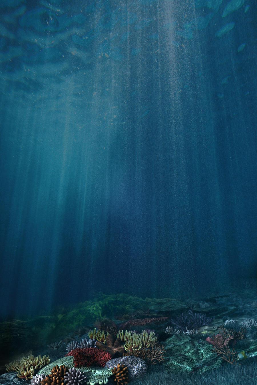 Premade BG Under The Sea 2 by Georgina-Gibson