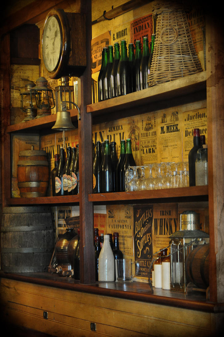 Rustic Old Bar By Georgina Gibson On Deviantart