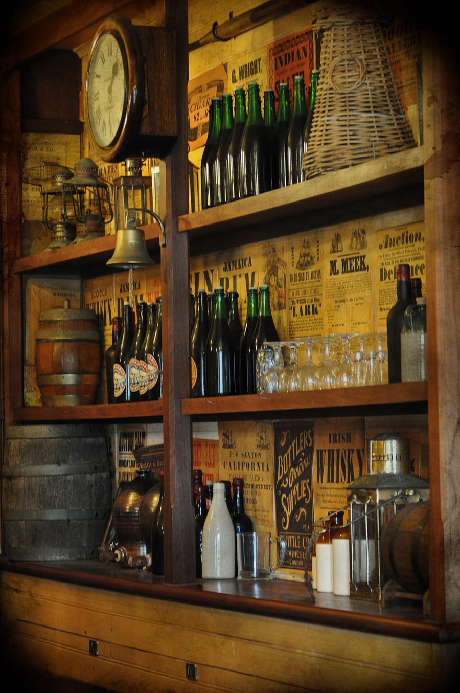 Rustic Old Bar By Georgina Gibson On DeviantArt
