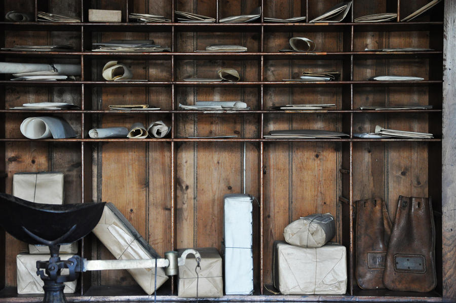 Vintage Old Post Office Mail Parcels By Georgina Gibson On Deviantart