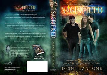 Book Cover, Sacrificed - Desni Dantone