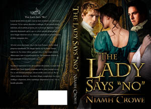 Book Cover - Lady Says No by Niamh Crowe