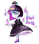 Cookie run- blackberry flavor cookie