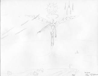 Decarabia Sketch by ChaosFarseer