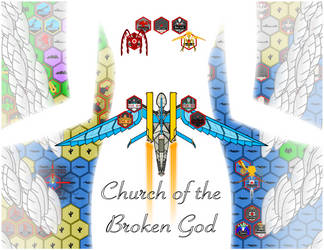 Church of the Broken God Poster by ChaosFarseer