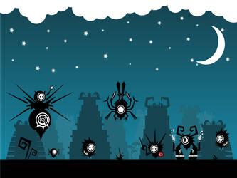 Robots by NightBladeN