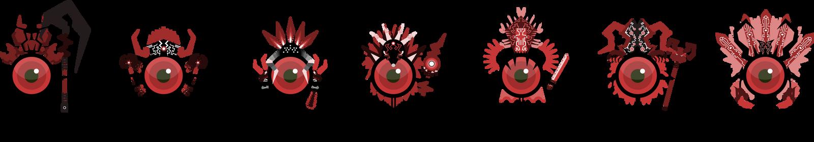 Eyeball classes by NightBladeN