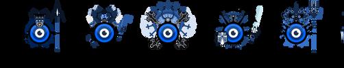 Eyeball Classes Set 2 by NightBladeN