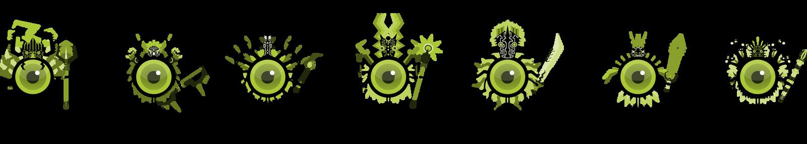 Eyeball Class Set 3 by NightBladeN