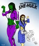 She-Hulk by Toegar Coloured