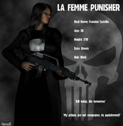 La Femme Punisher Bio by hotrod5