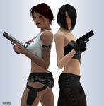 Poison and Rin 01 by hotrod5