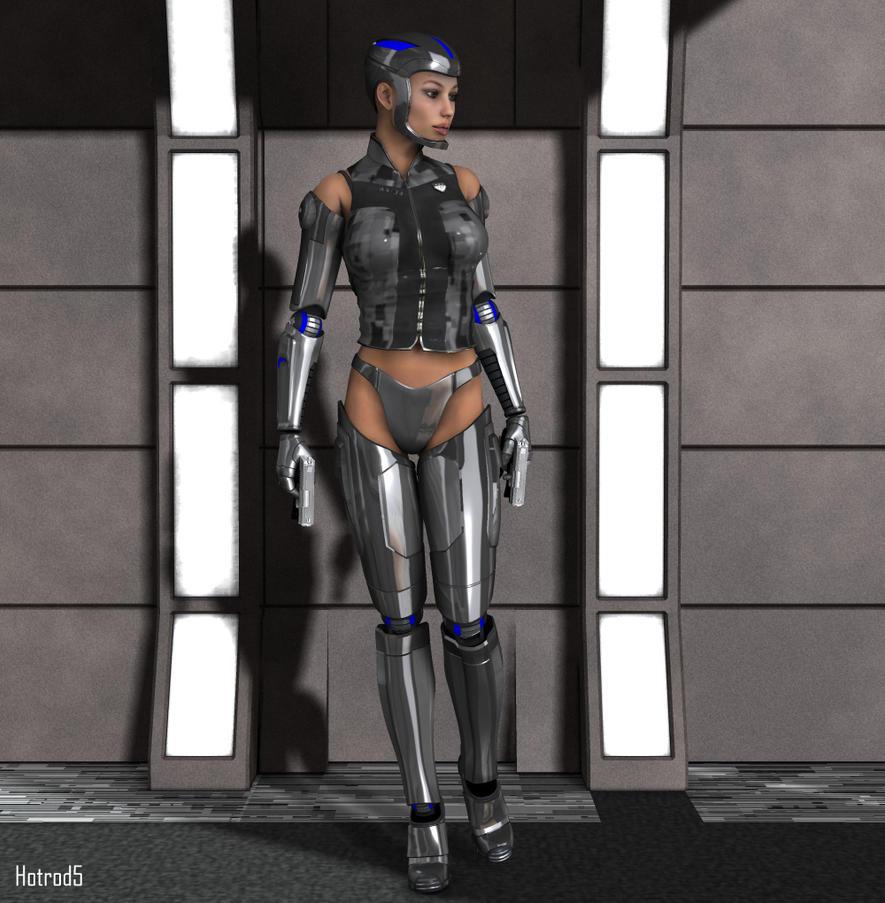Angie: Cyborg by hotrod5