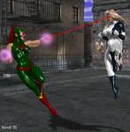 Walkiria vs. Ultrawoman