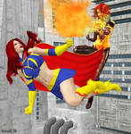 Dark Inferna vs Mindy Marvel