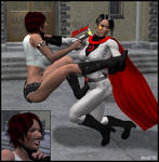 Poison vs Soviet Superwoman