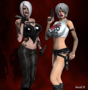 Tara Poison and Raine Rin