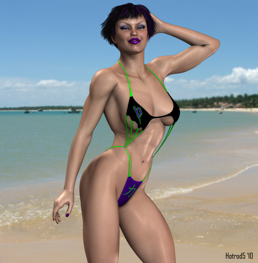 Potentia Beach Babe by hotrod5