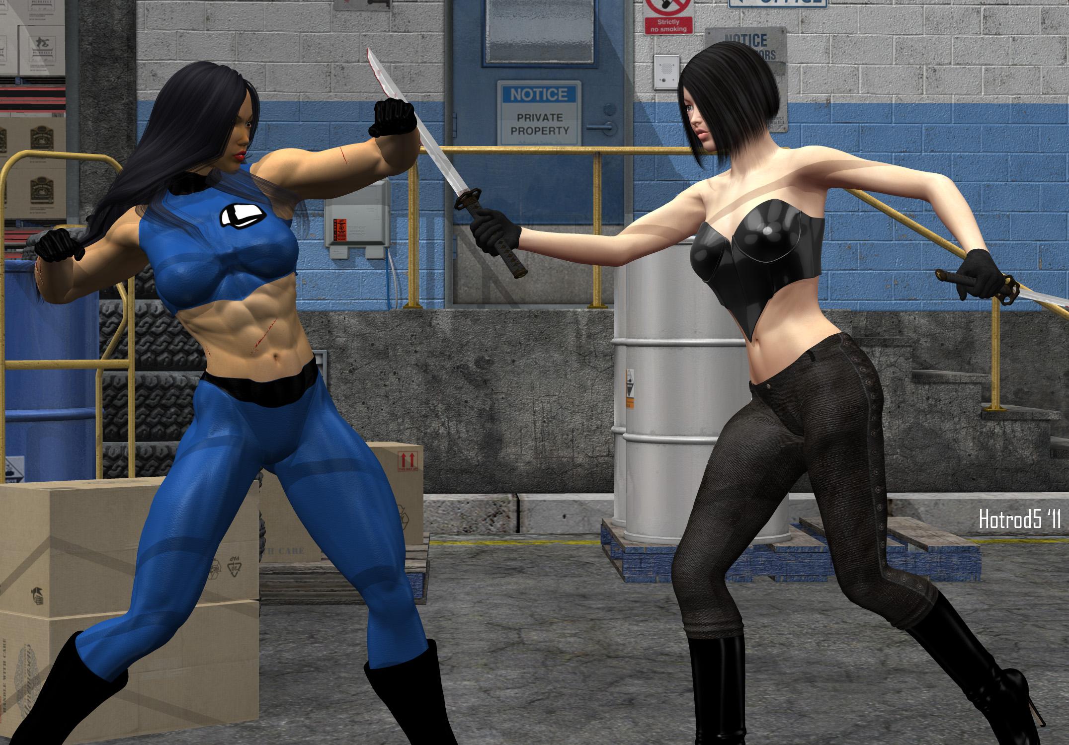 Fantastic Lin vs Rin by hotrod5