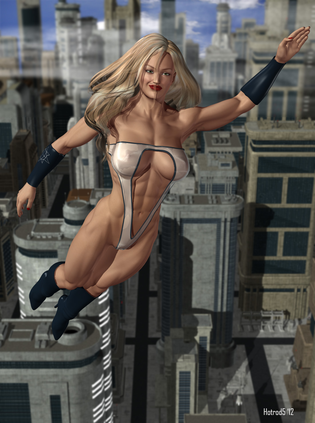 Ultrawoman: Diamond in the Sky by hotrod5