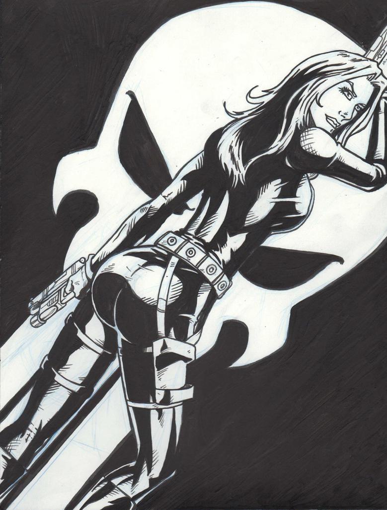 La Femme Punisher by 1314 by hotrod5