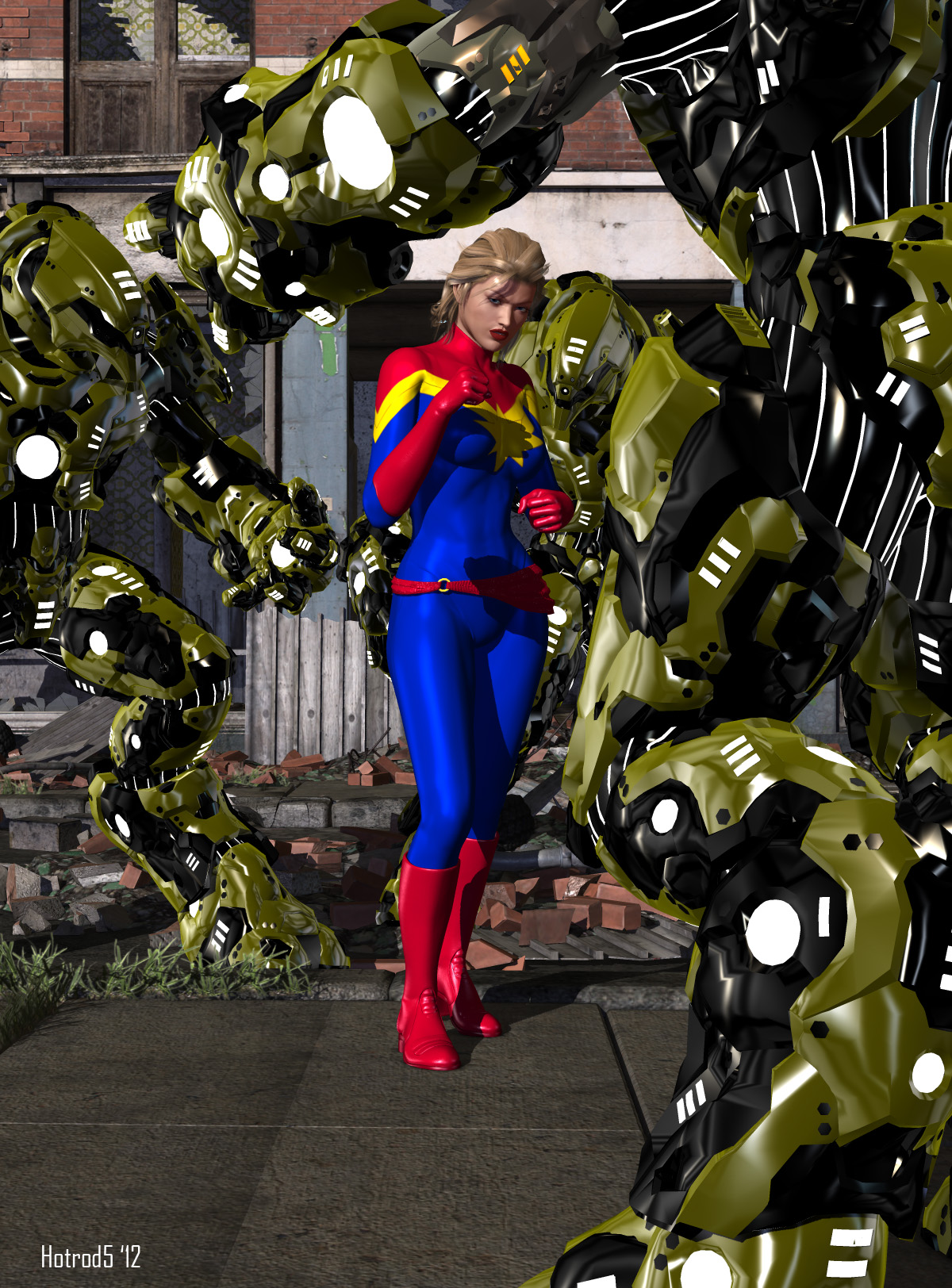 Captain Marvel 02 by hotrod5