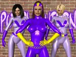 Purple Vixen and Gang