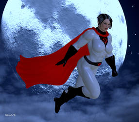 Soviet Superwoman: Night Patrol by hotrod5