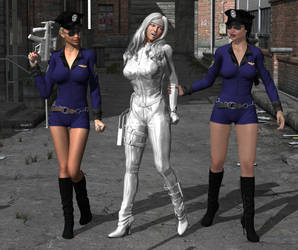 Silver Sable 03: Arrested! by hotrod5