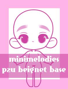 P2U Beignet Base by MiniMelodies