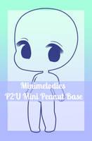 P2U Mini Peanut Base by MiniMelodies